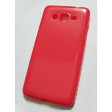 Чехол Samsung G530, G531 Grand Prime силиконовый розовый