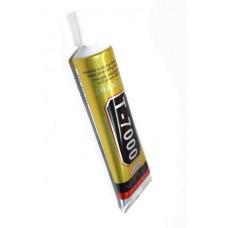 Клей T7000 15 мл Zhanlida черный герметик полиуретан для замены дисплеев, тачскринов