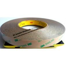 Скотч двухсторонний прозрачный 50м х 5мм х 0,18мм акрил