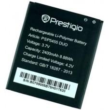 Батарея Prestigio MultiPhone 5455 аккумулятор PSP5455DUO оригинал 2400 мАч