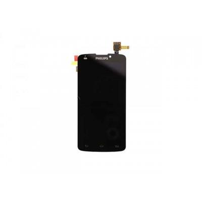 Дисплей Philips V387 модуль и тачскрин (экран и сенсор) модуль