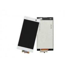 Дисплей Sony C Xperia C2305 тачскрин белый (экран и сенсор) модуль