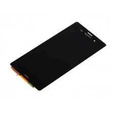 Дисплей Sony Xperia Z3, Z3 Dual D6643 D6603 D6616 D6653 тачскрин черный (экран + сенсор)