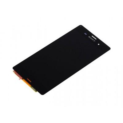 Дисплей и тачскрин Sony Xperia E C1505 черный (экран и сенсор) модуль