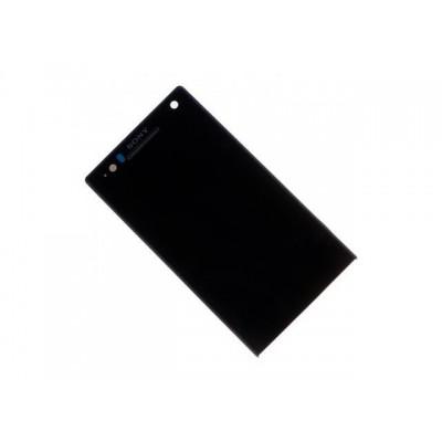 Дисплей Sony C Xperia C2305 тачскрин черный (экран и сенсор) модуль