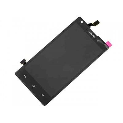 Дисплей Huawei Ascend G700 тачскрин (экран и сенсор) модуль (чёрный)