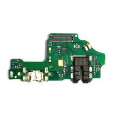 Шлейф Huawei Honor 8X (разъем зарядки + микрофон+ наушники) плата
