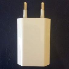 Блок питания, зарядное устройство универсальное адаптер белый AWM 5V, 1A
