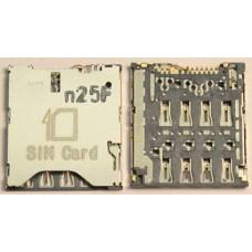 микро сим держатель micro sim OT 6012 / OT 6036 / OT 6037 / OT 6040 / OT 6050 / OT 7047 / OT 7050 / OT 8008