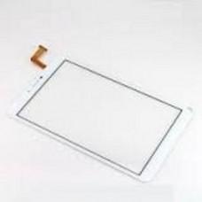 Тачскрин для OYSTERS T80 3G белый (стекло, внешний сенсорный экран)
