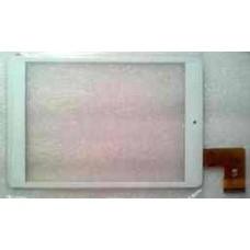 Тачскрин для OYSTERS T84M 3G белый (стекло, внешний сенсорный экран)