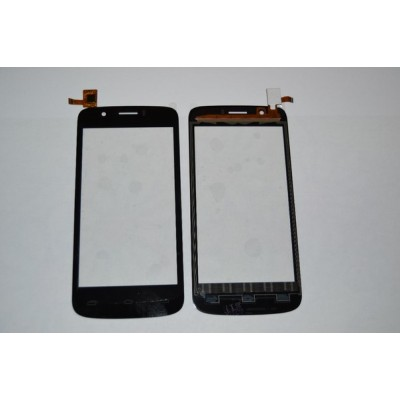 Тачскрин для Prestigio pap5453, pap-5453 MultiPhone DUO черный (стекло, внешний сенсорный экран)