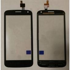 Тачскрин ZTE Blade Q Lux черный 3G сенсорный экран
