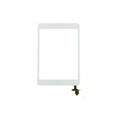 тачскрин для iPad mini 3 (с разъемом) тачскрин (экран и сенсор) модуль серебрянная кнопка HOME (белый)