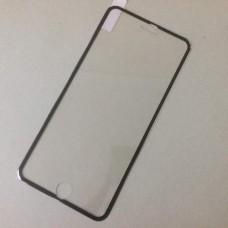 3D стекло iPhone 7 Plus черное закаленное защитное олеофобное покрытие