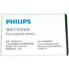 Аккумулятор Philips AB2000HWML батарея T3566 2000 мАч