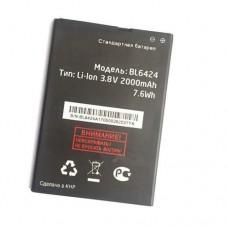 Аккумулятор Fly Nimbus 7 fs505 батарея BL6424 2000 мАч