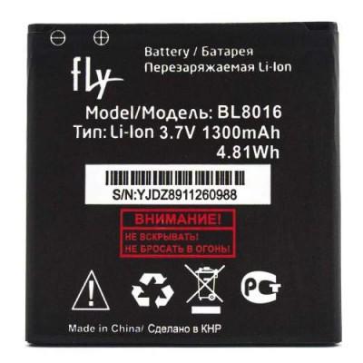 Аккумулятор Fly FS408 Stratus 8 батарея BL8016 1300 мАч