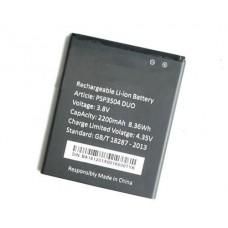 Батарея Prestigio 3504 аккумулятор PSP3504 2200 мАч