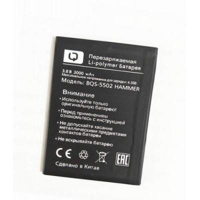 Аккумулятор BQ BQS-5502 Hammer батарея 3000 мА