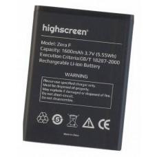 Аккумулятор Highscreen Zera F батарея оригинал 1600 мАч