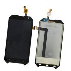Дисплей Blackview BV6000 сенсор модуль (экран и тачскрин) черный