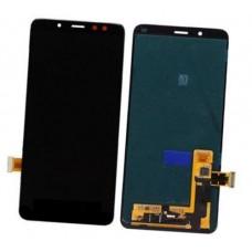 Дисплей Samsung Galaxy A8 Plus 2018 A730 тачскрин (экран и сенсор) модуль AMOLED