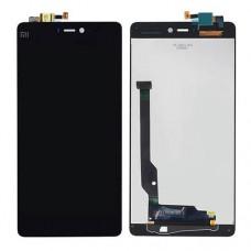Дисплей Xiaomi Mi4c тачскрин черный (экран и сенсор) модуль