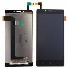 Дисплей Xiaomi Redmi Note тачскрин черный (экран и сенсор) модуль