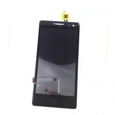 Дисплей ZTE Blade GF3 тачскрин черный (экран и сенсор) модуль