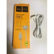 USB кабель iPhone 4 / 4s 1 м / 2А HOCO