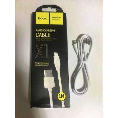 USB кабель iPhone 5 / 5S / 6 / 6s 1 м / 2А HOCO