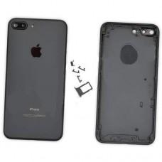 Корпус iPhone 7 Plus задняя крышка + сим-лоток + кнопки оригинал