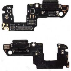 Шлейф Huawei Honor 9 (разъем зарядки + микрофон)