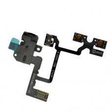 Шлейф iPhone 4 (аудио-разъем + кнопки громкости)