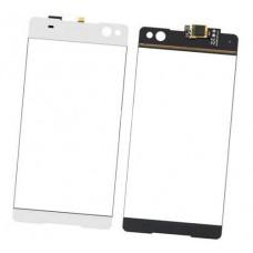 Тачскрин Sony C5 Ultra Dual Xperia E5533 E5563 сенсорный экран белый, черный